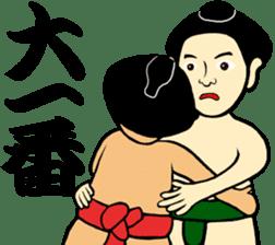 I am Sumo wrestler sticker #13878191