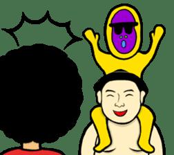 I am Sumo wrestler sticker #13878218