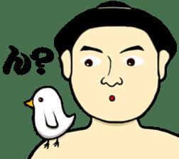 I am Sumo wrestler sticker #13878223
