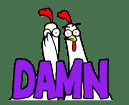 Chicken Bro sticker #13885792