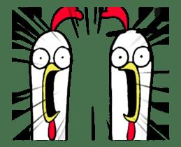 Chicken Bro sticker #13885796