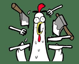Chicken Bro sticker #13885797