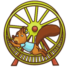 Sundrick the Squirrel sticker #13886699