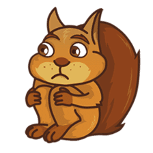 Sundrick the Squirrel sticker #13886706