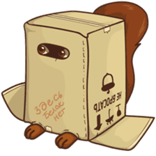 Sundrick the Squirrel sticker #13886710