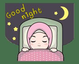 Lovely Hijab Girl Animation sticker #13896133
