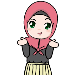 Lovely Hijab Girl Animation