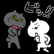 สติ๊กเกอร์ไลน์ Intense Cat