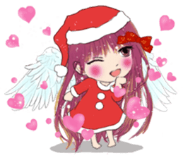 B&Y-Happy Christmas (English version) sticker #13917338
