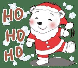 B&Y-Happy Christmas (English version) sticker #13917339