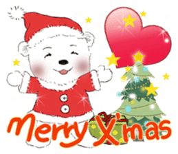 B&Y-Happy Christmas (English version) sticker #13917342
