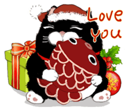 B&Y-Happy Christmas (English version) sticker #13917350