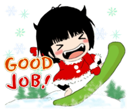 B&Y-Happy Christmas (English version) sticker #13917353