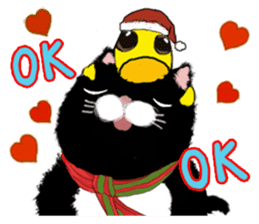 B&Y-Happy Christmas (English version) sticker #13917358