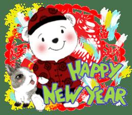 B&Y-Happy Christmas (English version) sticker #13917361