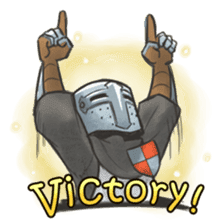 Full-Helm Bravo: Duelist sticker #13926921