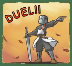 Full-Helm Bravo: Duelist sticker #13926929