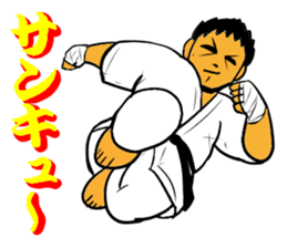 Karate-Man 3 sticker #13934510