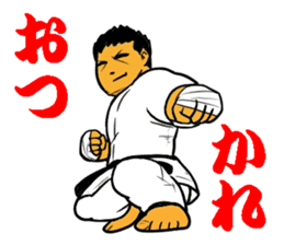 Karate-Man 3 sticker #13934518