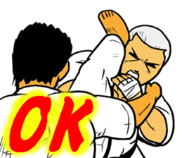 Karate-Man 3 sticker #13934527