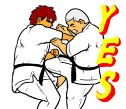 Karate-Man 3 sticker #13934531