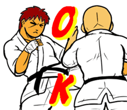 Karate-Man 3 sticker #13934539