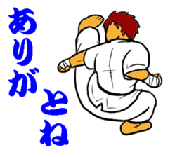 Karate-Man 3 sticker #13934540