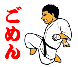 Karate-Man 3 sticker #13934542