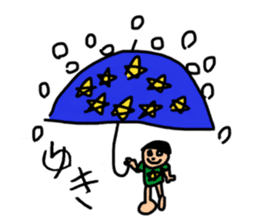 Children's illustrations 4 sticker #13935275