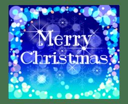 Sparkling! Christmas card Ver.1 sticker #13936166