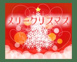 Sparkling! Christmas card Ver.1 sticker #13936167