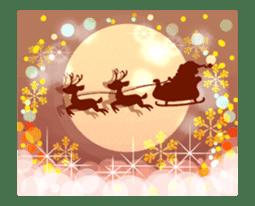 Sparkling! Christmas card Ver.1 sticker #13936168