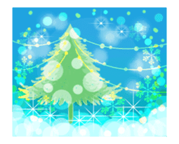 Sparkling! Christmas card Ver.1 sticker #13936169