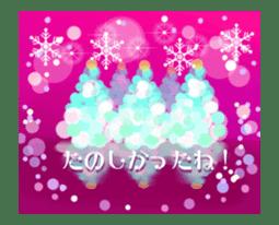 Sparkling! Christmas card Ver.1 sticker #13936170