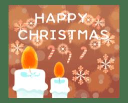 Sparkling! Christmas card Ver.1 sticker #13936171