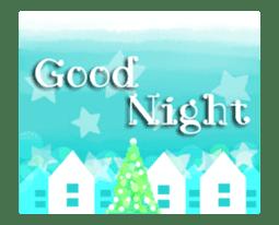 Sparkling! Christmas card Ver.1 sticker #13936173