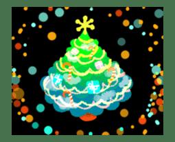 Sparkling! Christmas card Ver.1 sticker #13936176