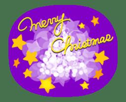 Sparkling! Christmas card Ver.1 sticker #13936177