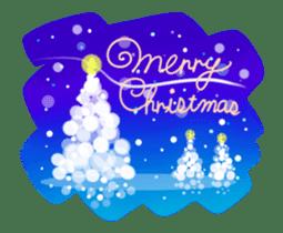 Sparkling! Christmas card Ver.1 sticker #13936181