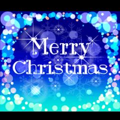 Sparkling! Christmas card Ver.1