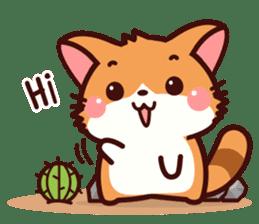 Little Fennec Fox (EN) sticker #13941406