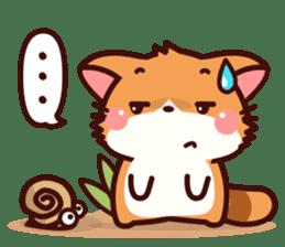 Little Fennec Fox (EN) sticker #13941408