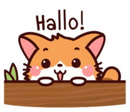 Little Fennec Fox (EN) sticker #13941411