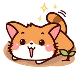 Little Fennec Fox (EN) sticker #13941413