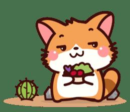 Little Fennec Fox (EN) sticker #13941414