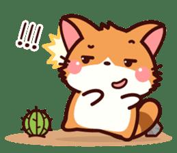 Little Fennec Fox (EN) sticker #13941416