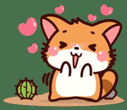 Little Fennec Fox (EN) sticker #13941423