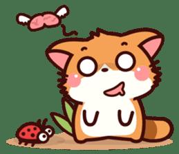 Little Fennec Fox (EN) sticker #13941426