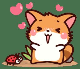 Little Fennec Fox (EN) sticker #13941429