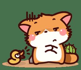 Little Fennec Fox (EN) sticker #13941430